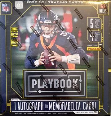 2020 Panini Playbook Football NFL Mega Box