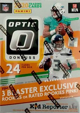 2020 Panini Donruss Optic Football NFL Blaster Box Brand New Factory Sealed