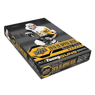 2019/20 Upper Deck Series 1 Hockey - 8 Card Packs