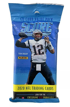 Panini Score NFL Football 40 Trading Cards Pack - 2020