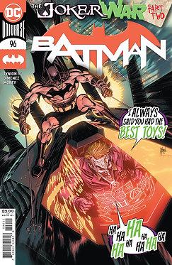 BATMAN #96 CVR A GUILLEM MARCH (JOKER WAR)alt