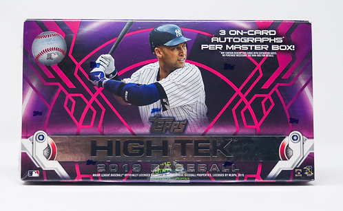 2019 Topps HighTek Baseball Trading Cards Box