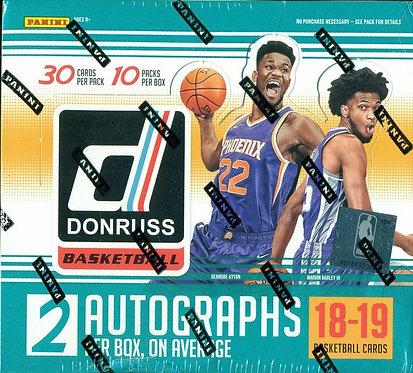 2018/19 Panini Donruss Basketball - 30 Card Packs