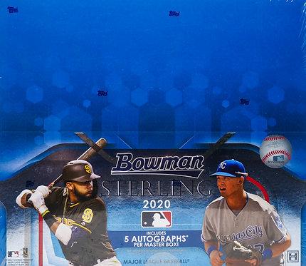 2020 Bowman Sterling Baseball Trading Card Box