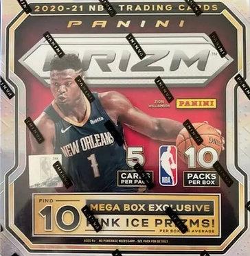 2020-21 Panini Prizm NBA Basketball Mega Box