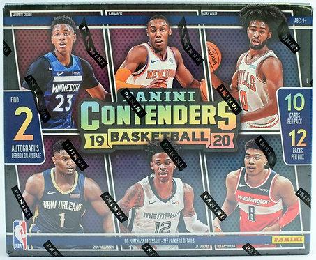 2019/20 PANINI CONTENDERS BASKETBALL - 10 Card Packs
