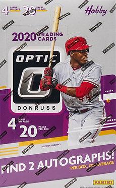 2020 Donruss Optic BaseballTrading Cards