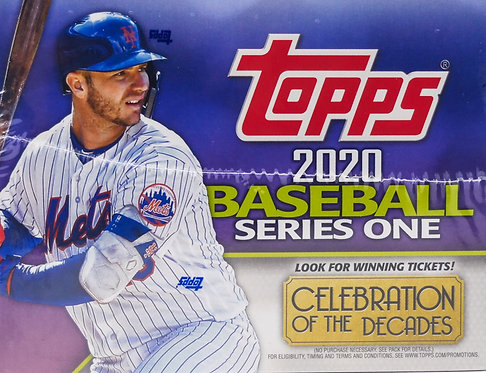 202 Topps Baseball Trading Card Series One Box