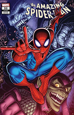 Amazing Spider-Man #50 Variant Adams