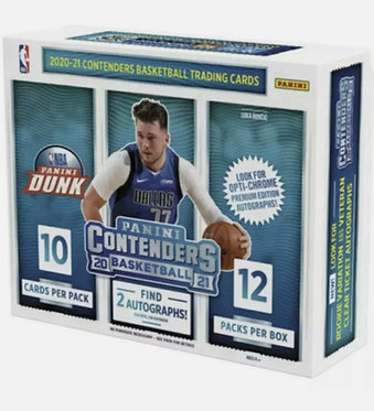 Panini Contenders Basketball 2021 Packs