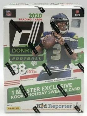 Panini 2020 Donruss Football NFL Holiday Blaster Box