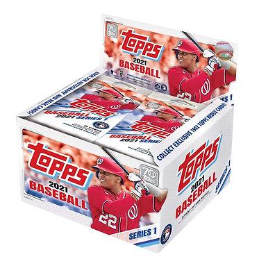 2021 Topps Baseball Series 1 - 16 CardPack