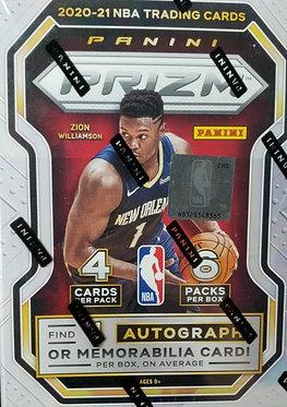 2020-21 Panini PRIZM NBA Basketball BLASTER BOX