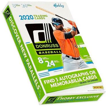 2020 Panini Donruss Baseball - 8 Card Packs