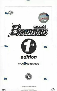 2021 Bowman 1st Edition MLB Trading Cards