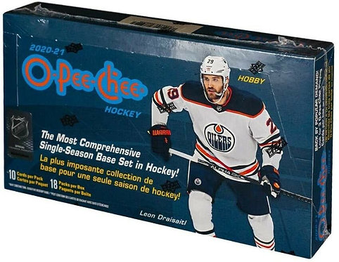 2020-21 O-Pee-Chee NHL  - 10 Card Packs
