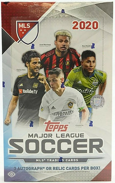 2020 Topps MLS Major League Soccer - 8 Card Packs