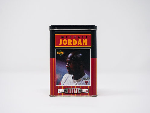 Michael Jordan Upper Deck Trading Card Tin