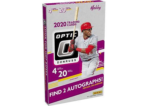 2020 Panini Donruss Optic Baseball - 4 cards per pack