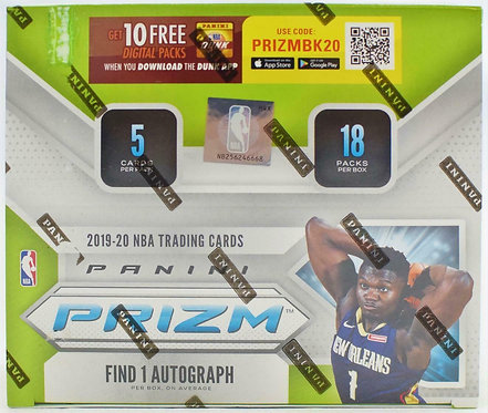 2019/20 PANINI PRIZM - 5 Card Packs