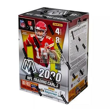 2020 Panini Mosaic Football 8 Pack Blaster Box