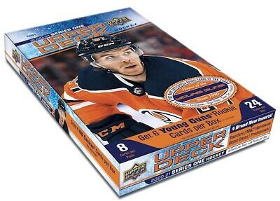 2020-21 UD Upper Deck Hockey Series One Young Guns - 8 Card Pack