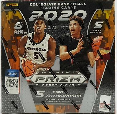 2020/21 Panini Prizm Draft Picks Basketball Hobby Box 5 Autographs