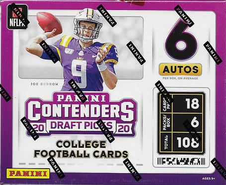 Panini Contenders 2020 Draft Picks - 18 Card Packs