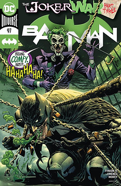 BATMAN #97 CVR A GUILLEM MARCH (JOKER WAR)