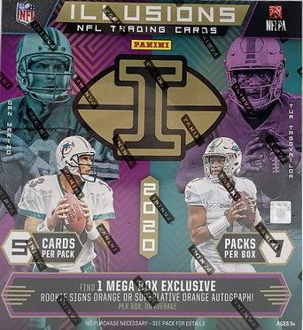 2020 Panini Illusions NFL Football MEGA BOX