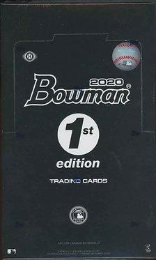 2020 Bowman First 1st Edition Baseball Hobby Box