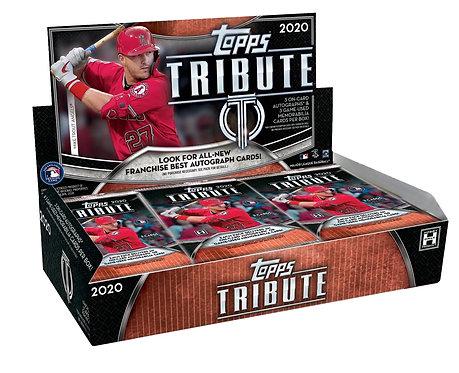 Topps Tribute 2020  Baseball - 3 cards per pack