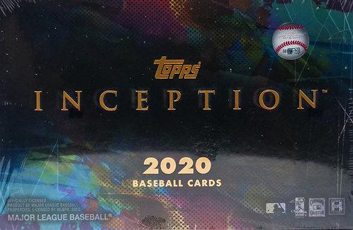 2020 Topps Inception Baseball Trading Cards Box