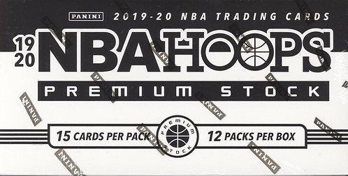 2019-20 PANINI NBA HOOPS PREMIUM STOCK BASKETBALL - 15 Card Packs