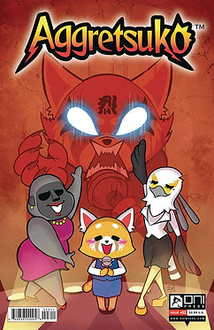 Aggretsuko #3 Cover B Variant Ian McGinty Cover
