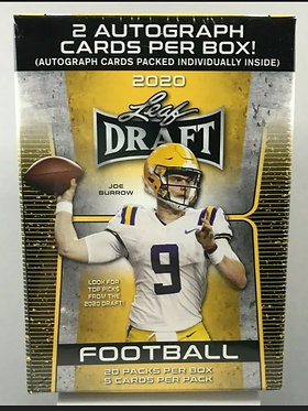 2020 Leaf Draft Football Blaster Box