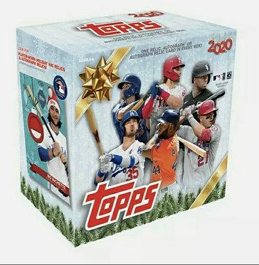 2020 Topps Holiday Mega Box Sealed MLB Baseball