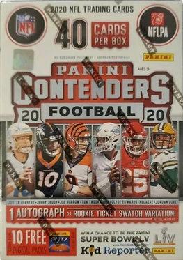 Panini Contenders Blaster NFL Football 2020 40 Trading Card