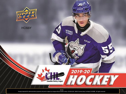 2019/20 UPPER DECK CHL HOCKEY - 16 Card Packs