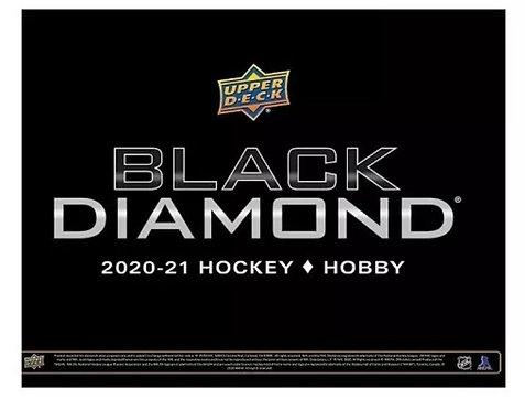 2020-21 Upper Deck BLACK DIAMOND  Hockey Hobby Box