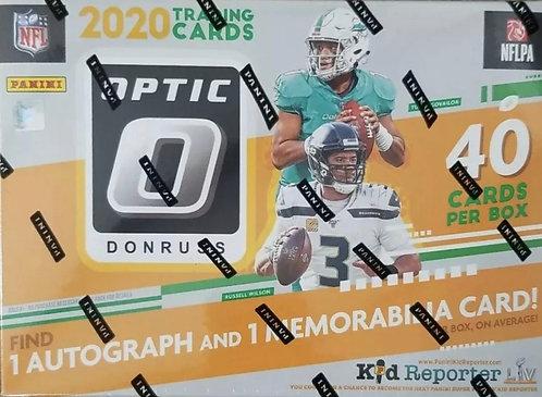 Panini Donruss Optic 2020 NFL Football Mega Box