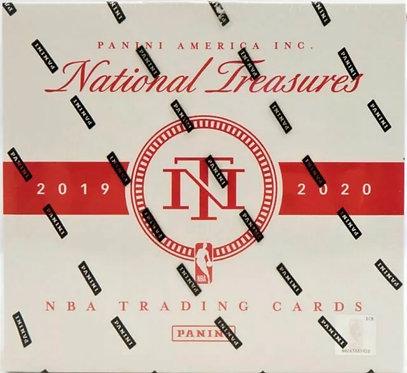 Panini National Treasures Basketball Hobby Box 2019-20