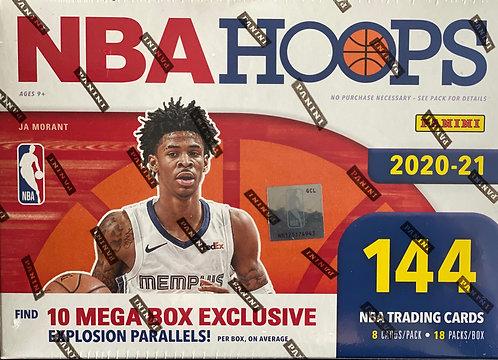 NBA Hoops Mega Box Exclusive 20-21