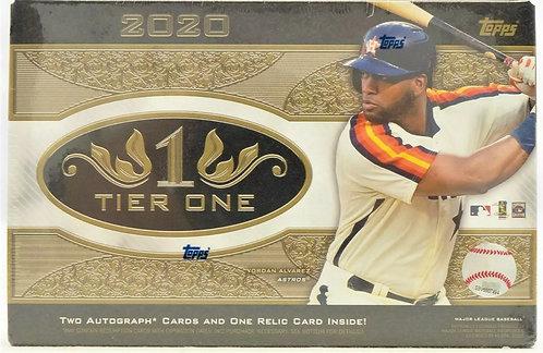 2020 Topps Tier One Baseball Hobby Box