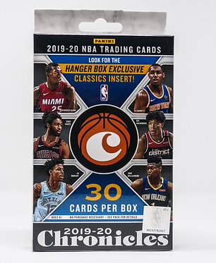 2019-20 Panini Chronicles Hanger Box Exclusive NBA Trading Cards