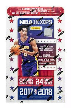 2017/18 Hoops Basketball -2 packs $30 8 Card Packs