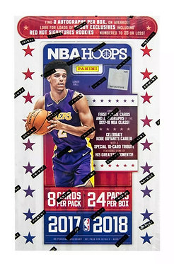 2017/18 Panini Hoops Basketball - 8 Card Packs