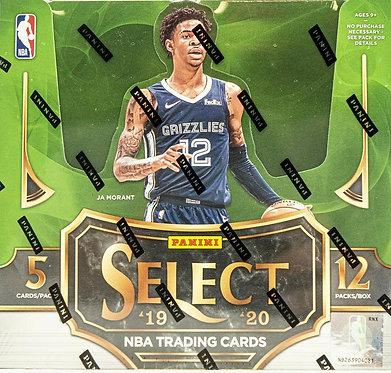 2019/20 Panini Select Basketball - 5 Card Packs