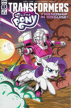 My Little Pony Transformers #1 (of 4) (Retailer 10 Copy Incentive Variant)