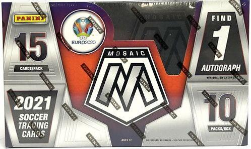 2021 Mosaic Soccer Hobby Box